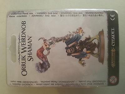 Warhammer Age Of Sigmar Ironjawz Orruk Weirdnob Shaman - New And Sealed