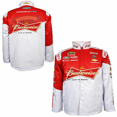 Kevin Harvick 2015 Chase Authentics Budweiser Uniform Replica Jacket Xl Size
