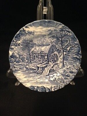 Alfred Meakin The Mill Blue Salad Dessert Plate
