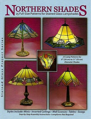 Northern Shades -Stained Glass Lampshade Patterns - Awesome lamp shade patterns!