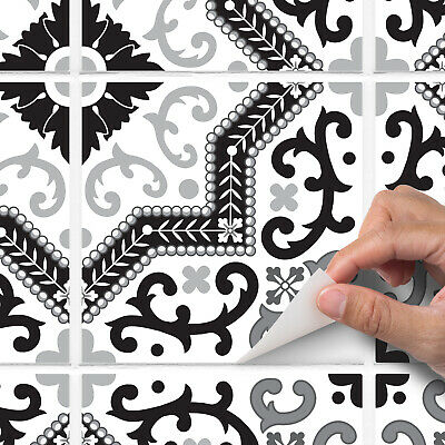 Traditional Feature Tile Sticker Transfers - Kitchen, Bathroom, Furniture & DIY