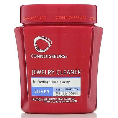 236ml Jar Connoisseurs Jewelry Cleaner for Revitalizing Sterling Silver