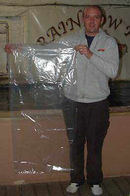 "46"" x 24"" QUALITY KOI / FISH BAGS. EXTRA LARGE. 10 PACK"