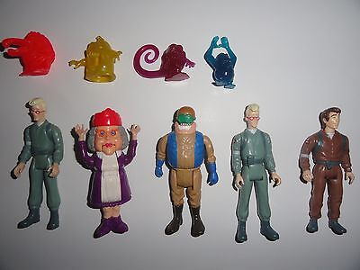 The Real Ghostbusters Box Lot of 5 Figures 4 Ghosts