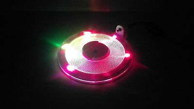 Pink PS2 Slim Console Light Up Colour Changing Stand Mount