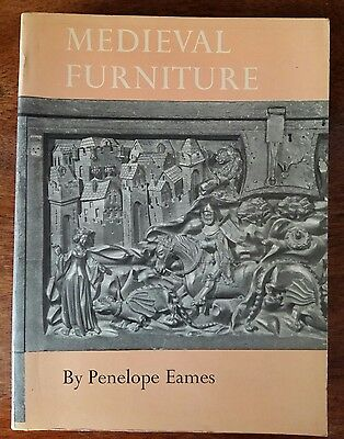 Medieval Furniture Penelope Eames English, French, Dutch 12-15th Century RARE