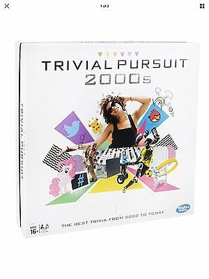Trivial Pursuit 2000s Family Edition Board Game Hasbro BNIB Brand New Sealed