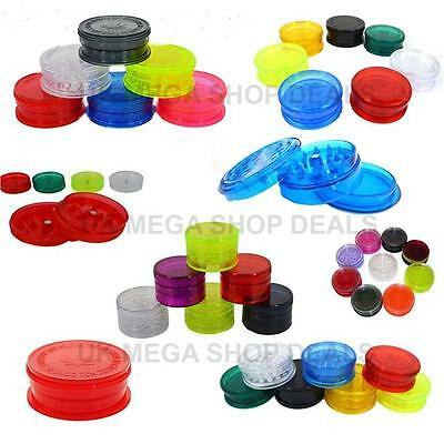 Grinder Herb No1 Shark Teeth Plastic 3 Parts Tobacco Mini Magnetic NonMagnetic