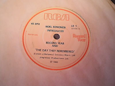 Elvis Presley - The Wonder Of You / The Day They Remembered - Rca 45