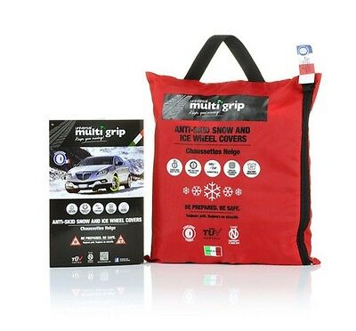 NEW Multi Grip Car Snow Socks, Wheel Grips Covers, Snow Chains XXL RRP £59.99
