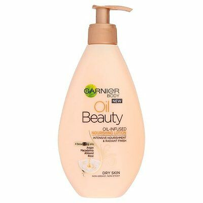 Garnier Body Oil Beauty Dry Skin Nourishing Lotion, 250ml