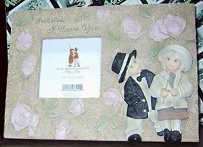 Kim Anderson PAAP Figurine, 'Be My One And Only', Photo Frame, New In Box 649449