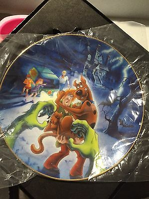 Scooby-Doo WB Collectors Plate In Box 1997