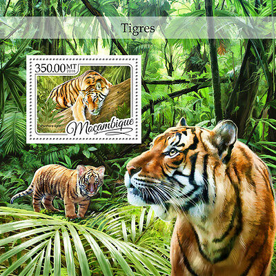 MOZAMBIQUE 2016 ** Tigers Tiger S/S #426b