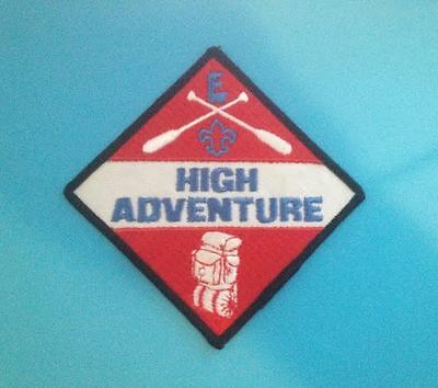 Rare San Diego Imperial Council HIGH ADVENTURE TEAM Large Badge Patch Crest  BSA