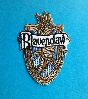 Harry Potter Ravenclaw House Scarf Hat Jacket Hoodie Backpack Patch Crest