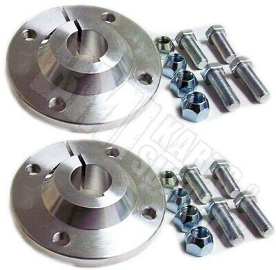 "Set of 2, 1-1/4"" Rear Axle Aluminum Wheel Hubs Go Kart Golf Off Road Cart 4 x 4"