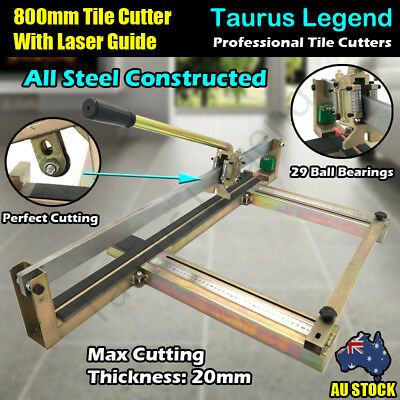 800mm All Steel Tough Manual Laser Guide Tile Cutter Pro. Tile Cutting Machine