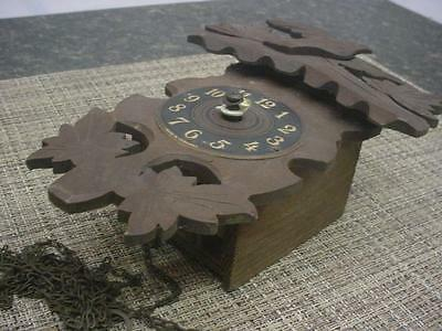 German Grieshaber Black Forest Novelty Cuckoo Clock Miniature Parts Repair E934b