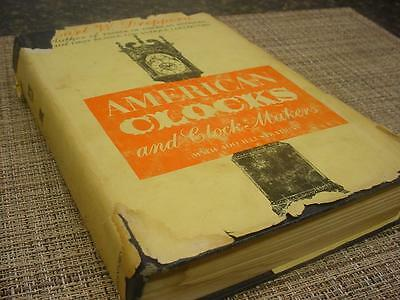 "Vintage""American Clocks and Clockmakers"" Guide Book 312 pages by Dreppera  D473c"