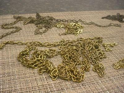 Lot of Various Large Sizes of German Black Forest Cuckoo Clock Chain E968e