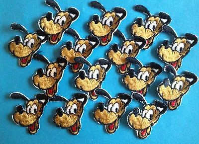 15 Lot Vintage 1960's Mickey Mouse Pluto Disney Hat Jacket Hoodie Patches Crests