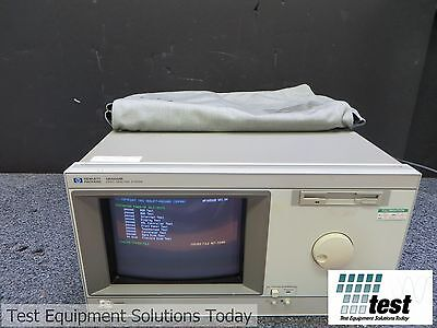 Agilent HP 16500B Logic Analysis System Mainframe ID#25442 DR