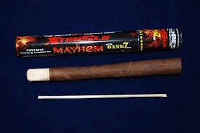 2 PCS New 2017 Mayhem Pre - Rolled CONE  With Reusable Wooden Tip ( 2 Pcs )