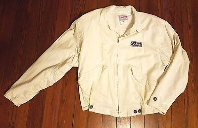Rare Vintage 1988 Action Jackson Cast & Crew Movie Promo Jacket - Carl Weathers