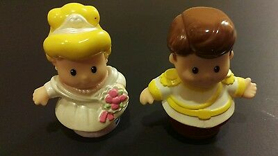 Little People Cinderella and The Prince figurines/cake toppers