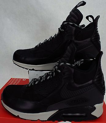 New Mens 9 NIKE Air Max 90 Sneakerboot Winter Boots Shoes $190 684714-001