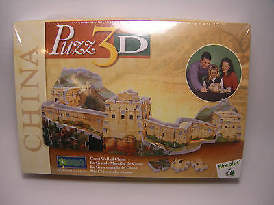 Wrebbit Puzz 3D Puzzle Foam - Great Wall Of China - Sealed