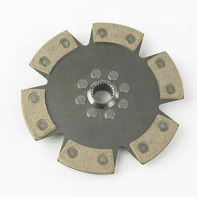 Helix Race / Rally 184mm Cerametallic 6 Paddle Clutch Drive Plate - 22.5mm x 20T