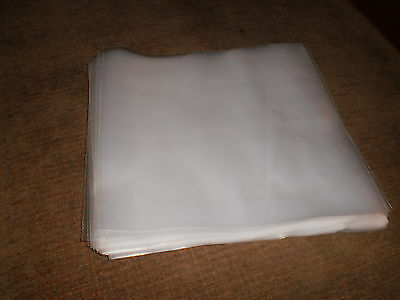 """25 Vinyl / Record Outer Sleeves 7"""" Plastic Covers"""