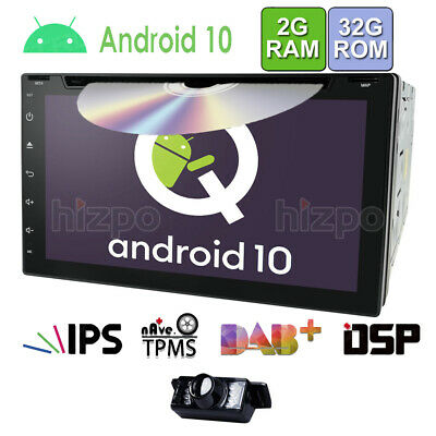 "7"" Android 5.1 Quad Core Double 2 Din Car Stereo Radio Player GPS Navi Camera"