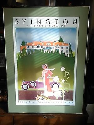 Vtg California Napa Valley Wine Bar Sign Stephen Haines Hall Byington Picture