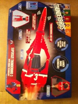 Thunderbirds Supersize Thunderbird 3 with Smoke Technology **NEW**
