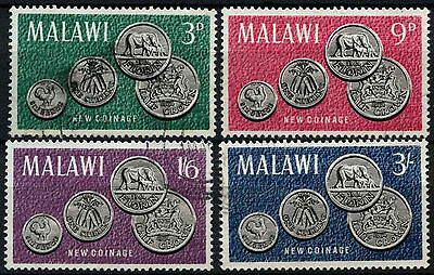 Malawi 1965 SG#232-235 Coins Used Set #D42628