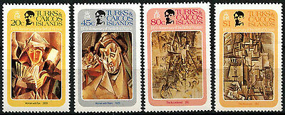 Turks & Caicos Is. 1981 SG#648-651 Picasso MNH Set #D42296