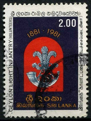 Sri Lanka 1981 SG#724 Light Infantry Used #D42054