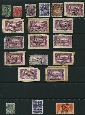 Sierra Leone Railways Travelling Post Offices Coronation George Fifth And Sixth