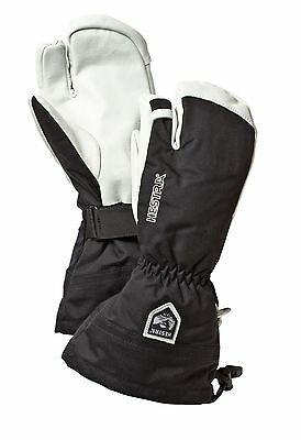 HESTRA Army Leather Heli Ski Handschuhe 3-Finger (30572) NEUWARE!!