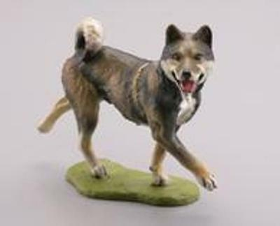 Kaiyodo Museum Q Pet Animal Japanese Japan Kishu Shiba Inu Husky Dog Figure