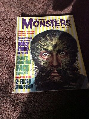 Warren Magazine Famous Monsters Of Filmland #28 Fine Condition