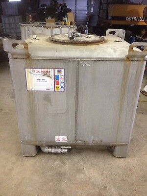 Stainless Steel Metalcraft 350gal Tote