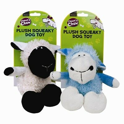 Cute Plush Squeaky Sheep Toy
