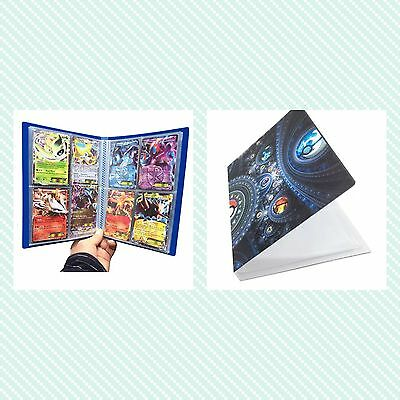 �� Pokemon Collector Trading Game Card Folder �� Holds 112 Collection Cards ��UK