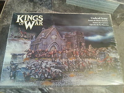 Kings Of War Undead Army - 90 Miniatures -  New And Sealed