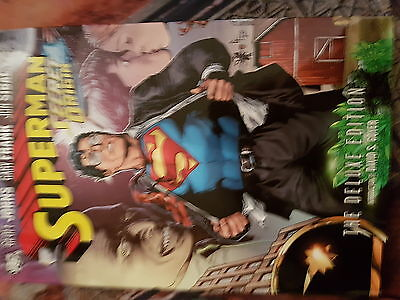 Dc Graphic Novel Superman Secret Origin The Deluxe Edition - New And Sealed