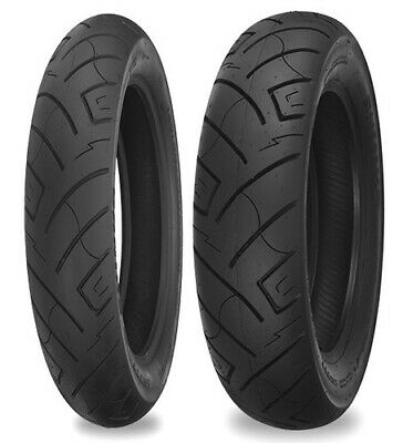 "Shinko F 777 Blackwall 18"" Front 130/70-18 69H Bias Ply Motorcycle Tire"